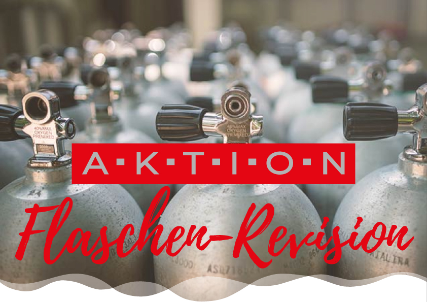 Aktion Tauchflaschen-Revision