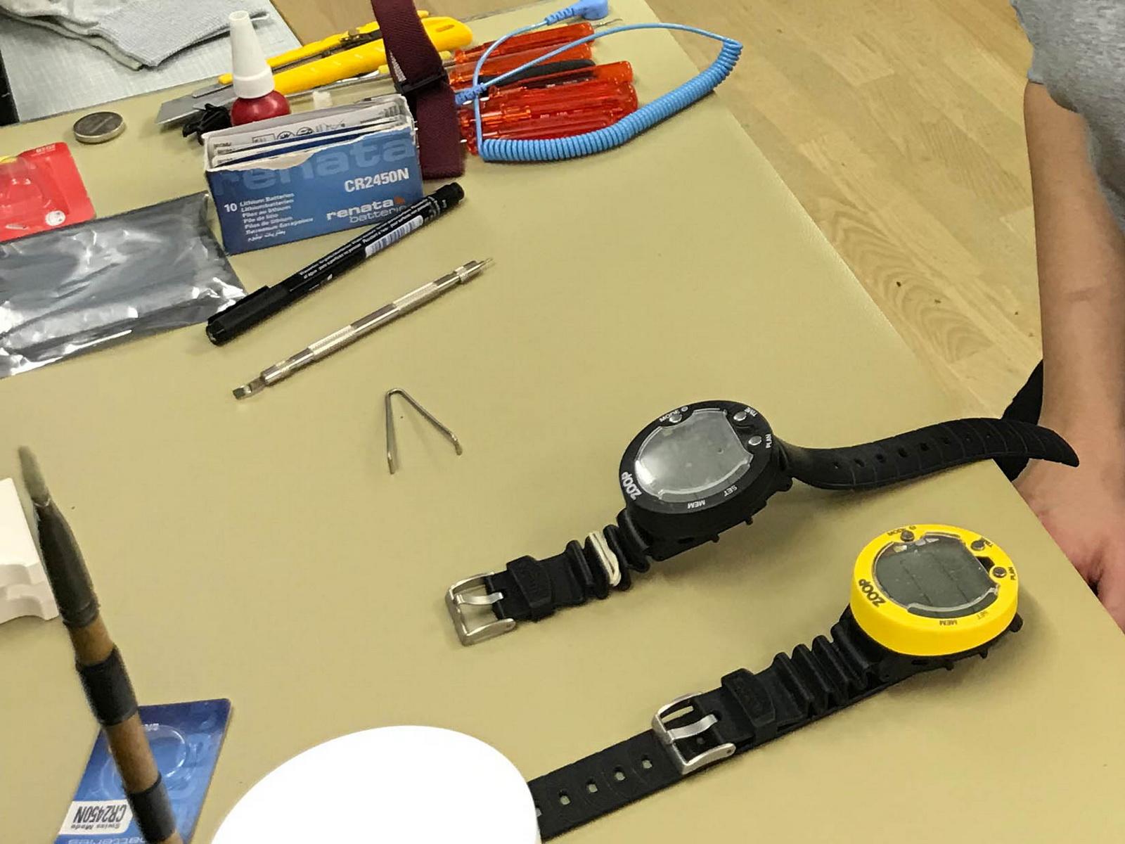 Suunto Zoop Batteriewechseln