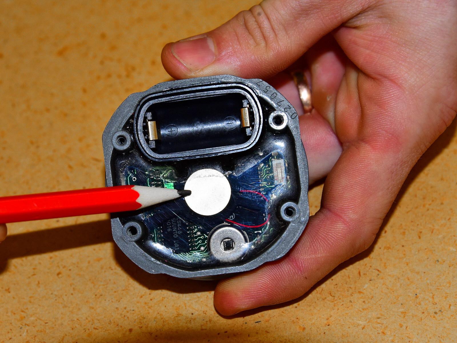 Transmitter Einstellung für Tauchen