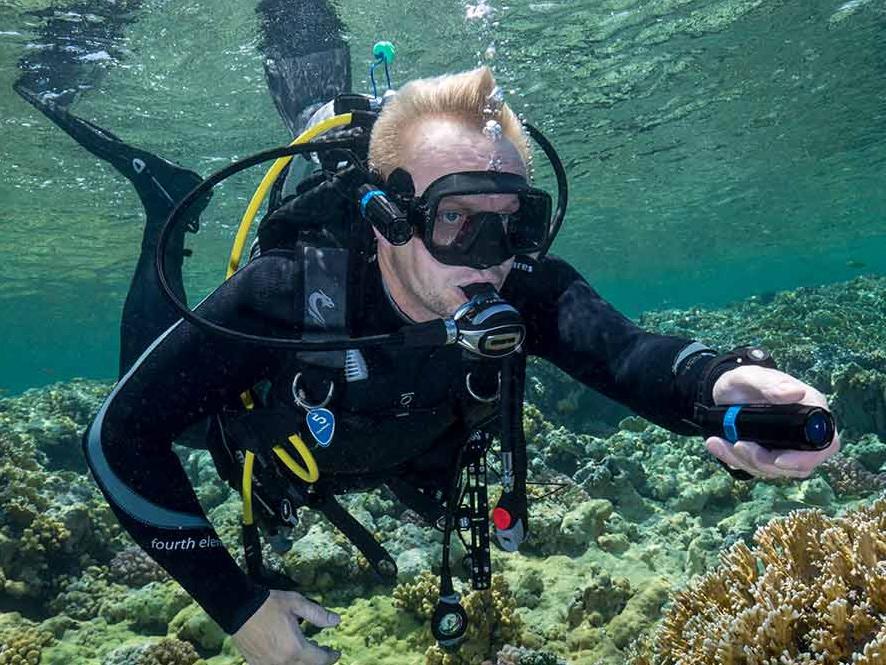 Kompakt Unterwasser Kamera für Vermietung