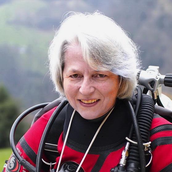 Ruth Kläy, PADI Instructor