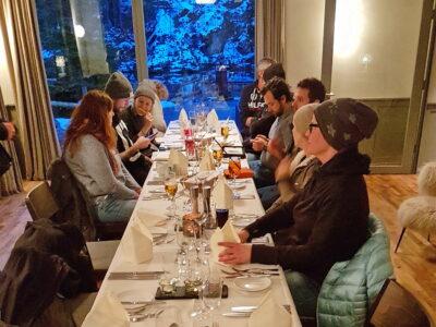 5-Gang Essen nach Blausee Tauchen