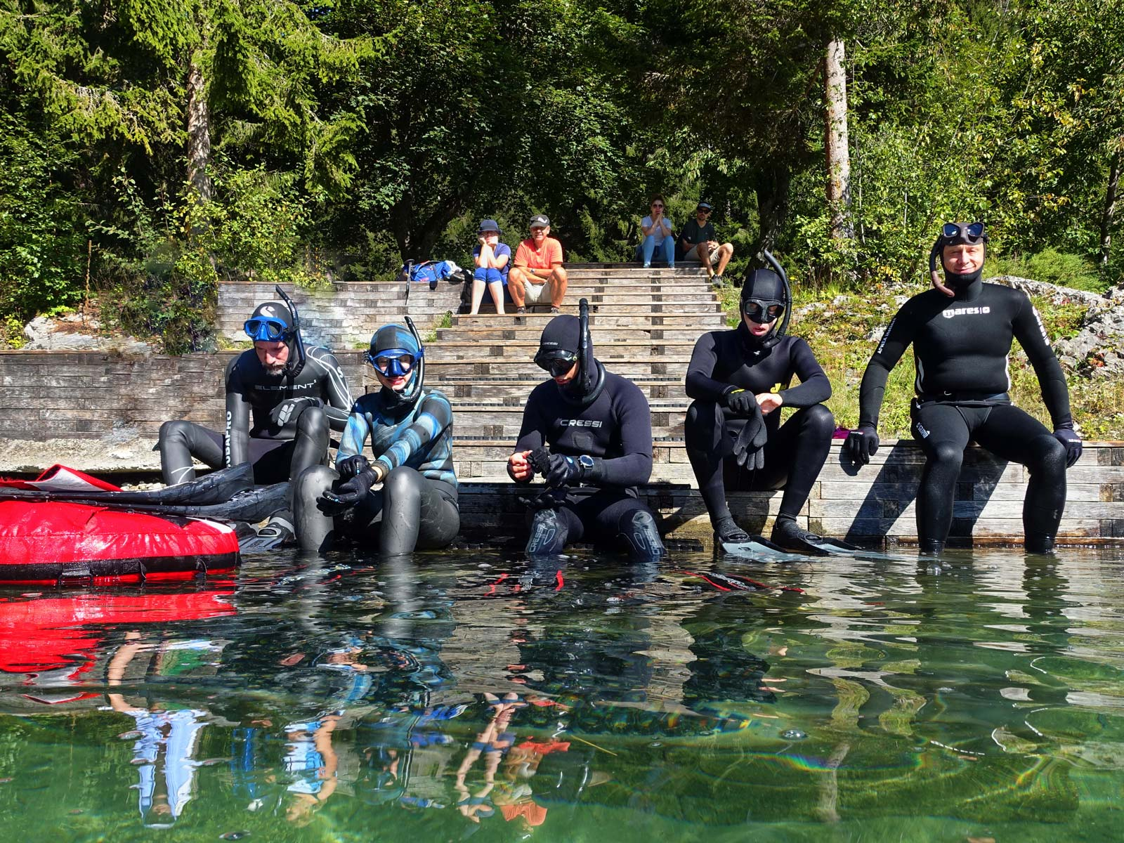 15.08.2021 | Bergsee-Freediving | Caumasee