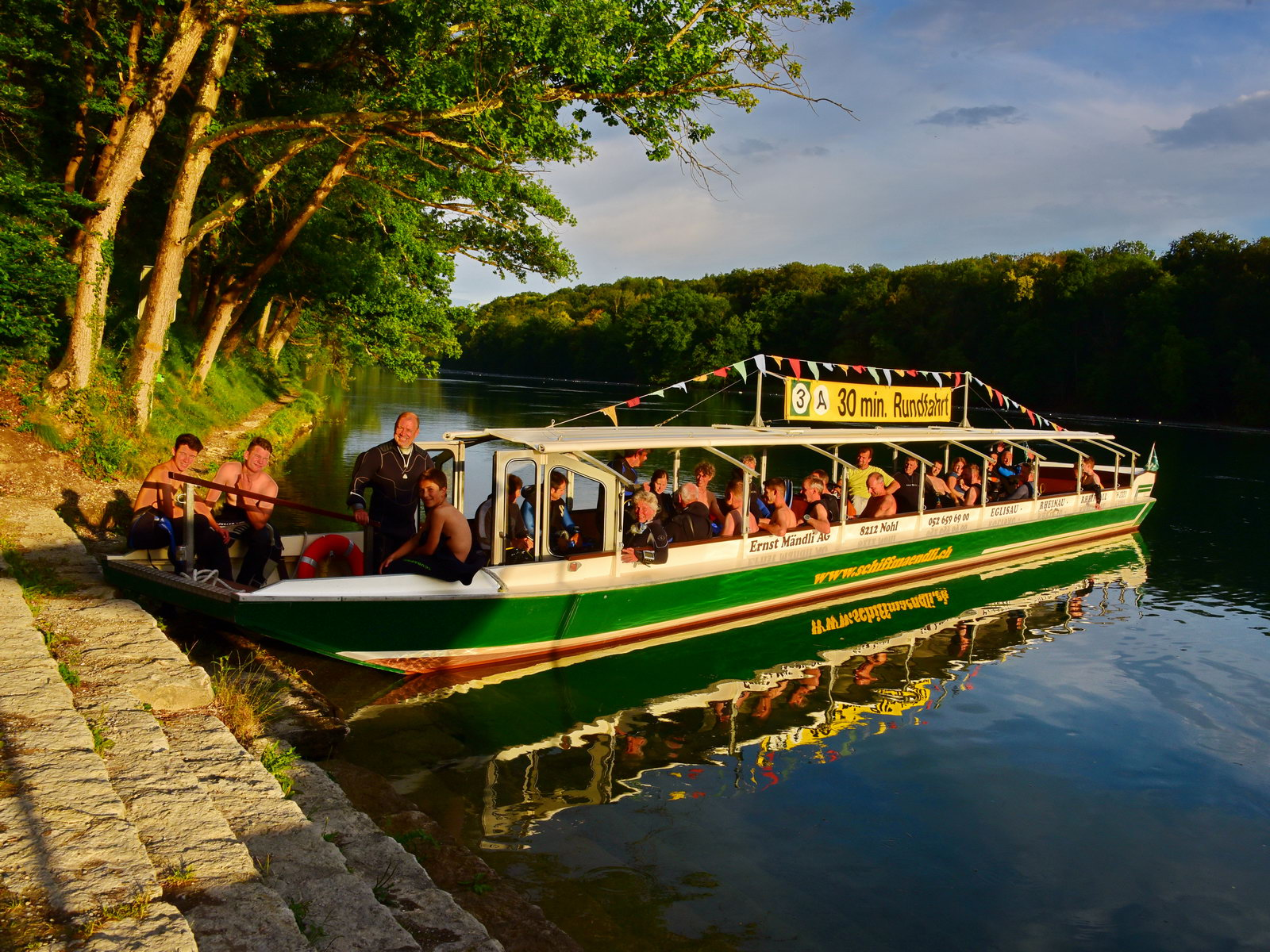 09.07.2021 | Bootstour & Flusstauchgang & BBQ | Rhein