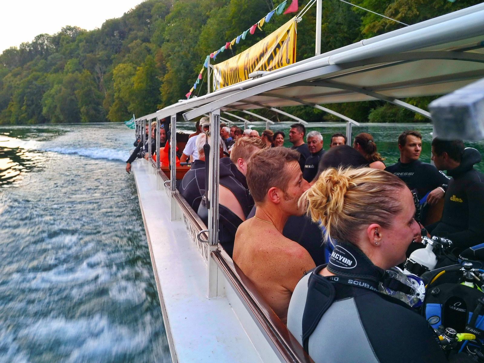 Strömungstauchen mit Bootsfahrt