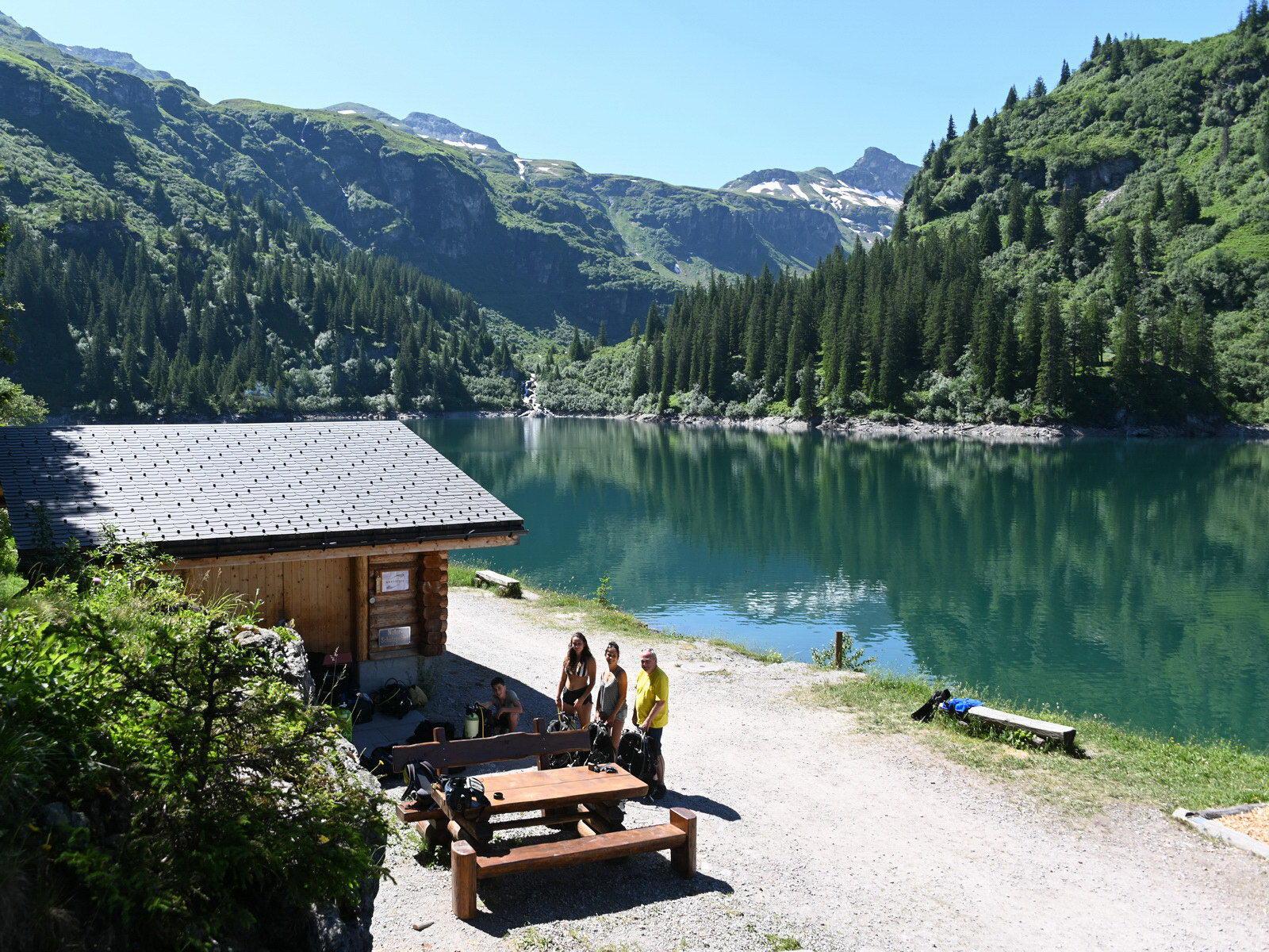 Panorama-Blick beim Garichtisee-Weekend