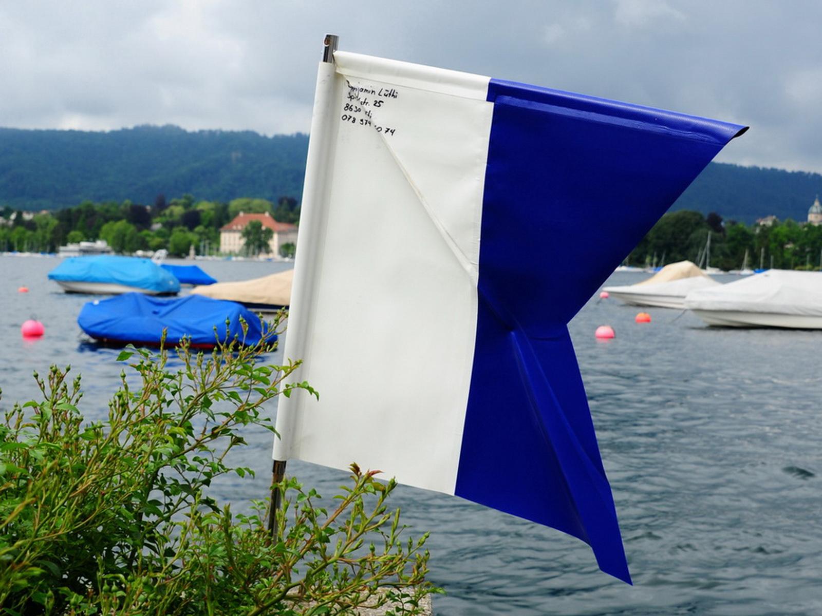 Tauchflagge vorgeschrieben beim Tauchen