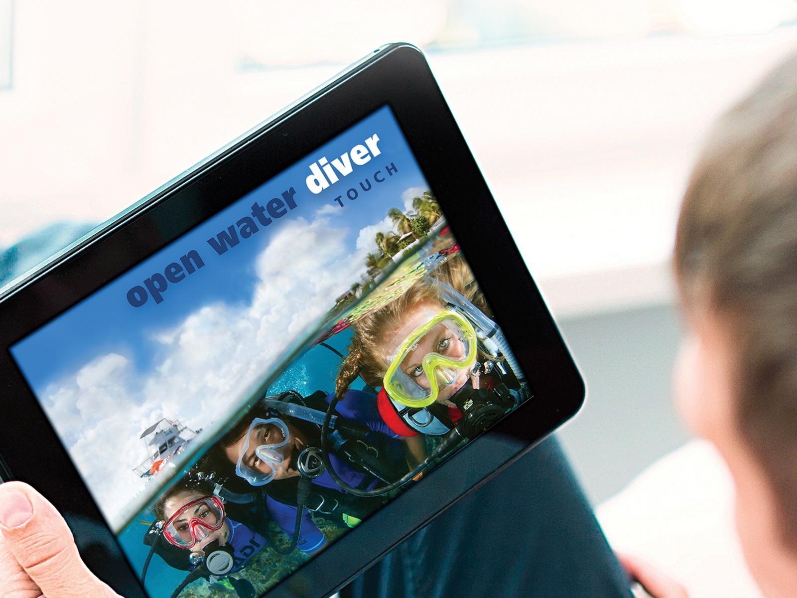 PADI e-Learning des Open Water Divers