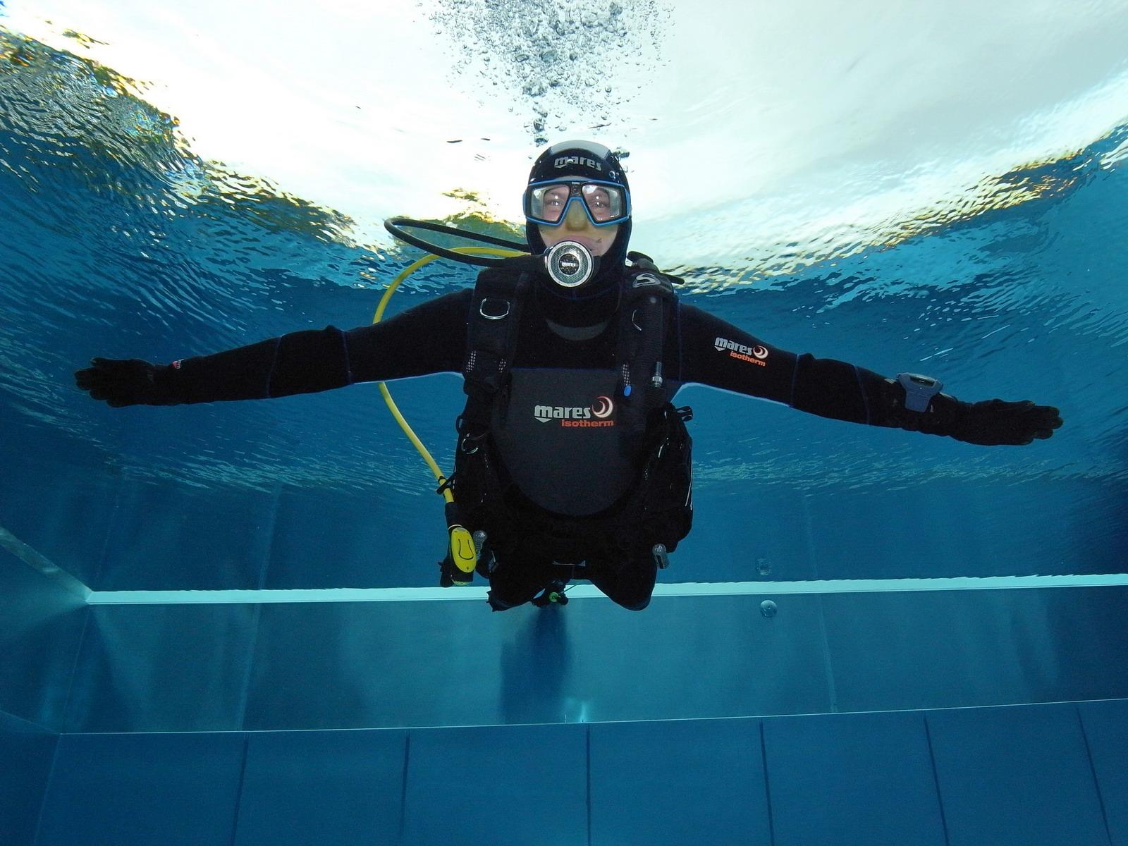 Im Open Water Diver schweben lernen