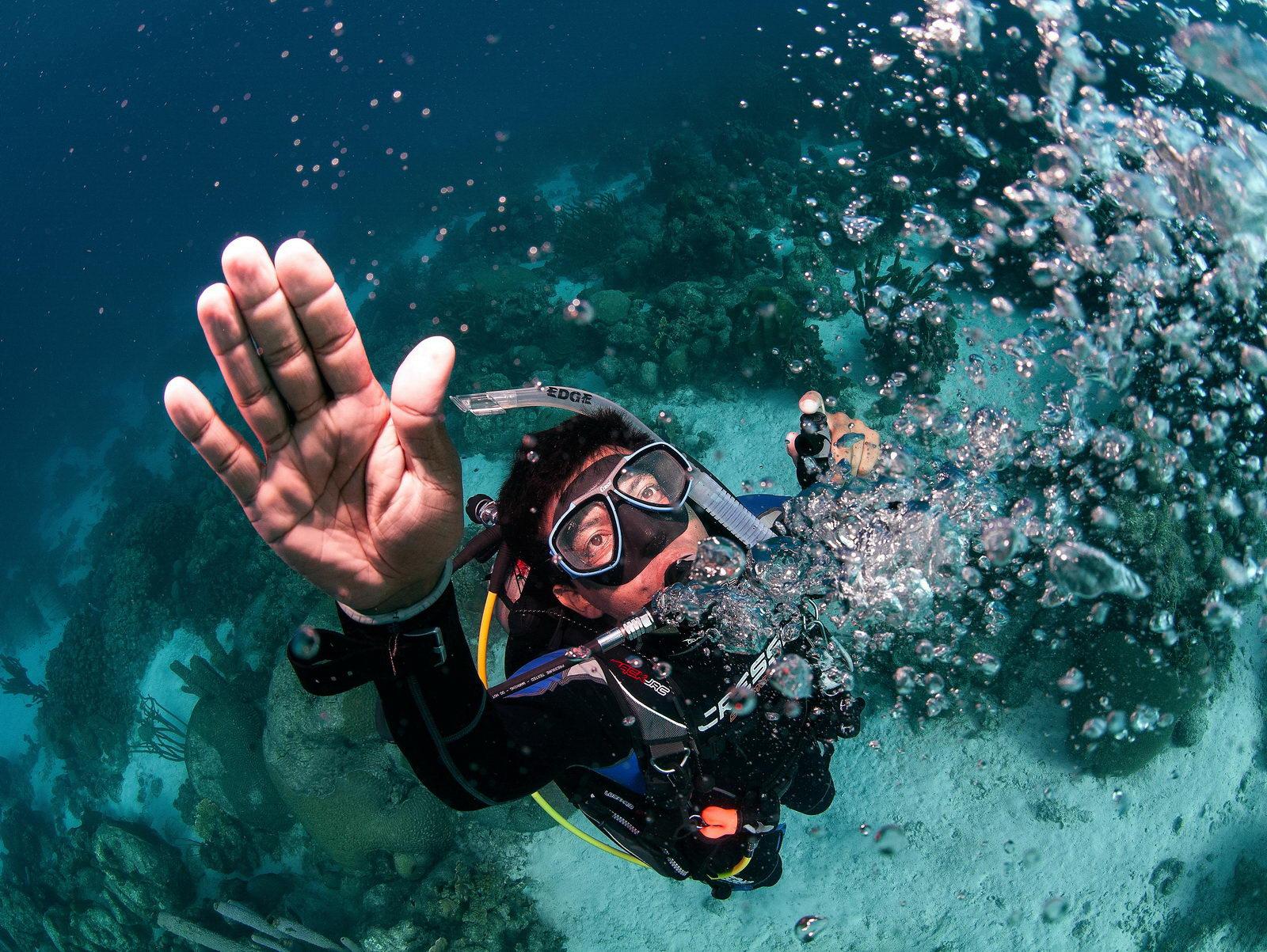 Notaufstieg im Open Water Diver Tauchkurs