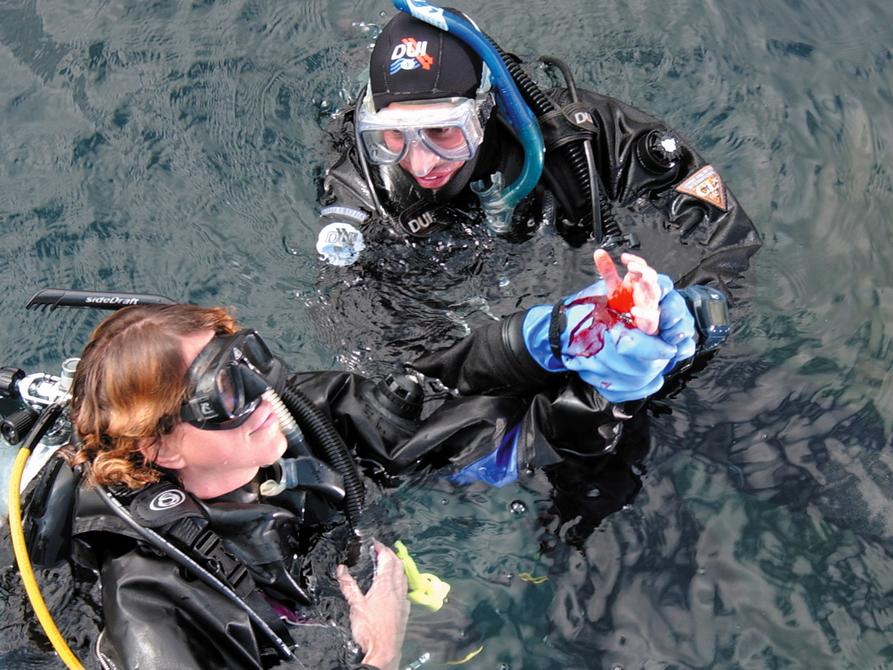 Notfallszenario im PADI Rescue Diver
