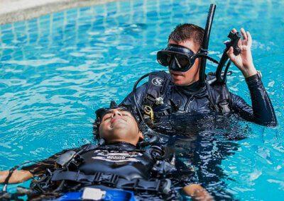 Rescue Diver | «touch» | Englisch