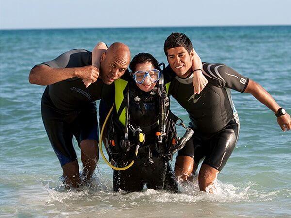 Rettungsübung beim Rescue Diver-Kurs