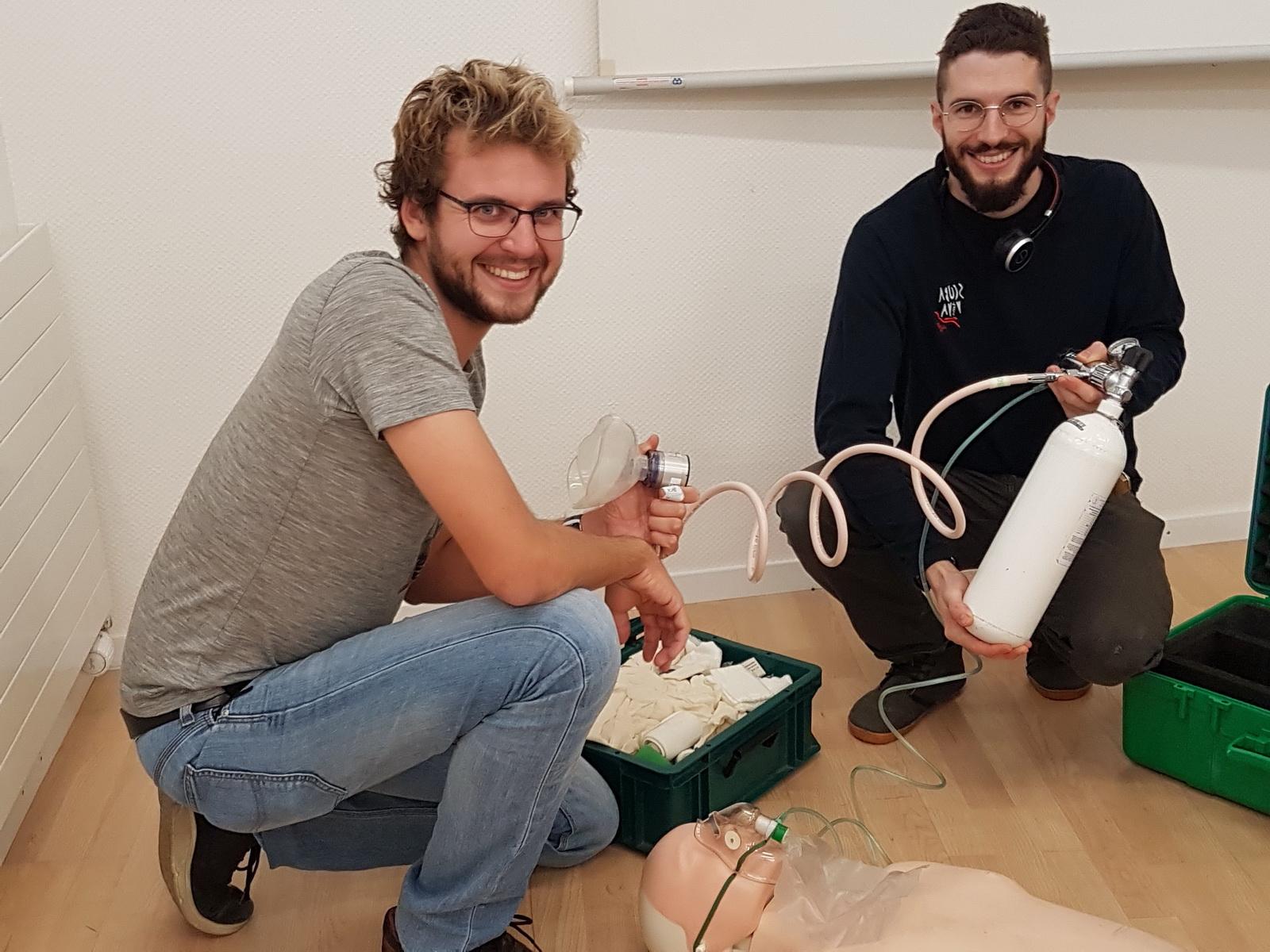 Sauerstoffbehandlung Training im Oxygen Provider