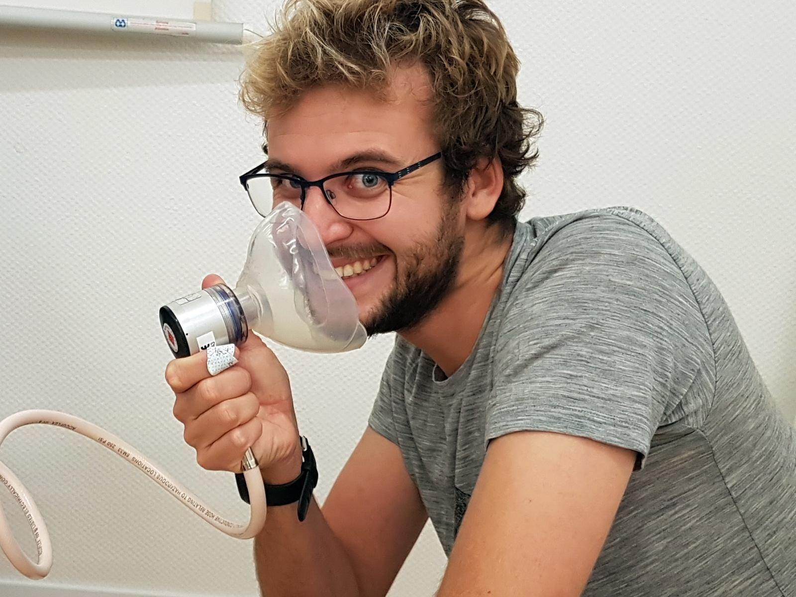 Training mit Sauerstoff im Oxygen Provider