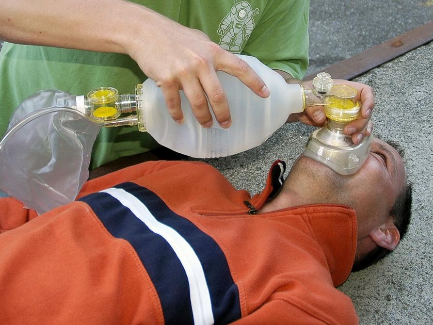 Im Oxygen Provider wird Sauerstoff verabreicht