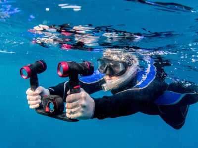 Taucher im Unterwasser-Foto-Kurs von SCUBA VIVA