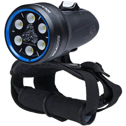 Tauchlampe Sola Dive 800 Scubi Challenge