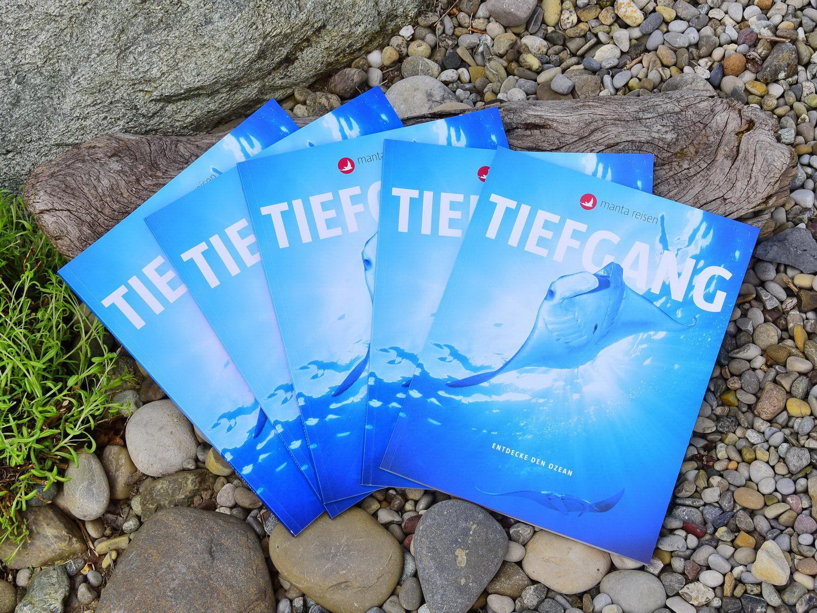 Manta Reisen Taucher Catalog