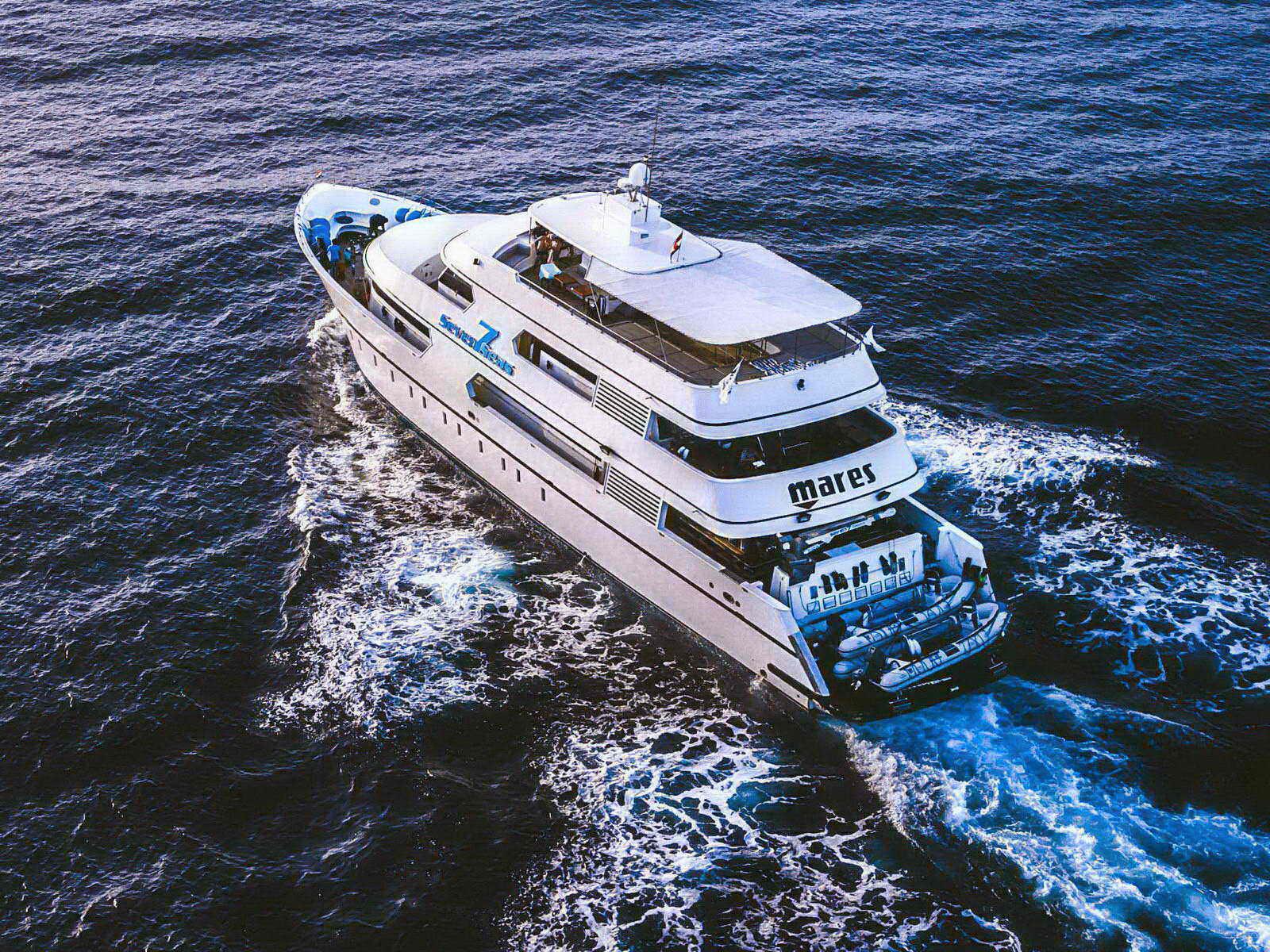 Tauchsafari Seven Seas in voller Fahrt