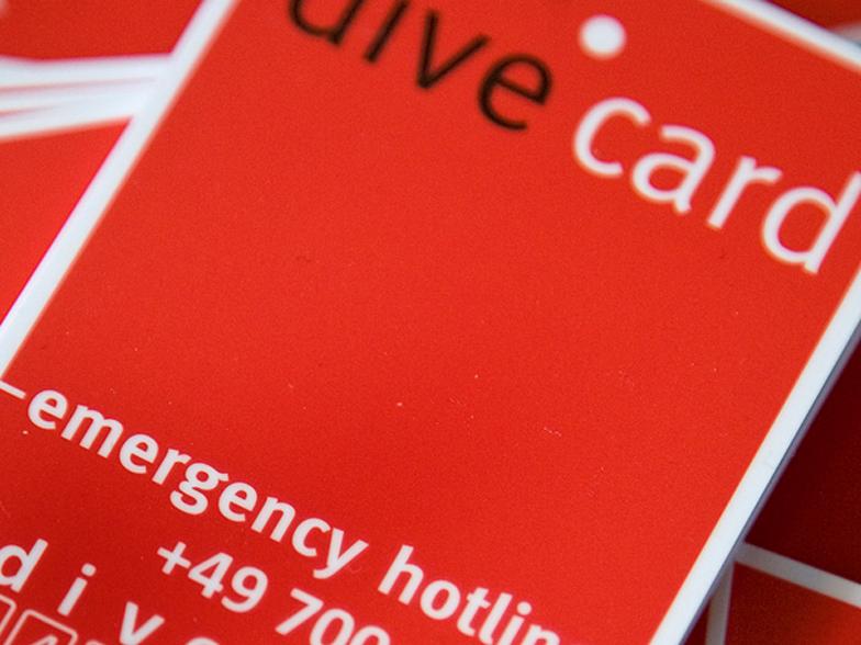 Dive Card von Aqua Med