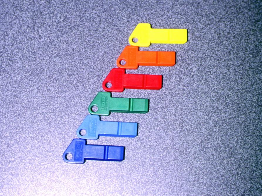 U-Key Schlüssel für Dive Center