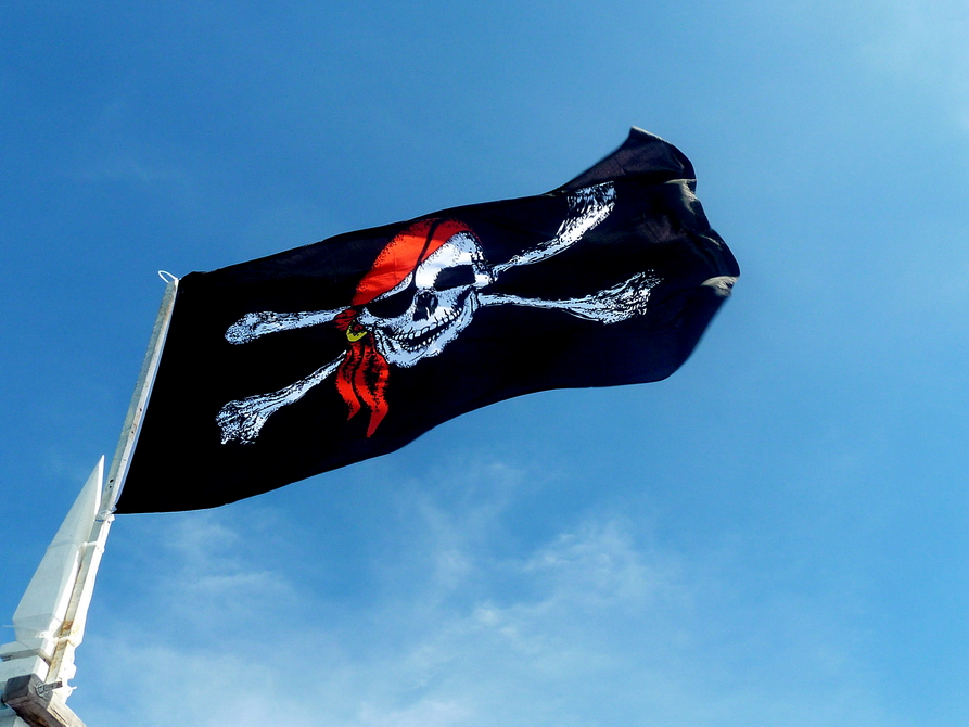 Interessante Tauchshopn Flagge