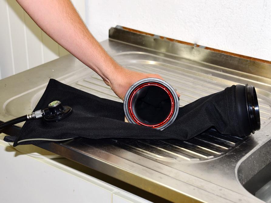 Trockenhandschuhe für Trockenanzug