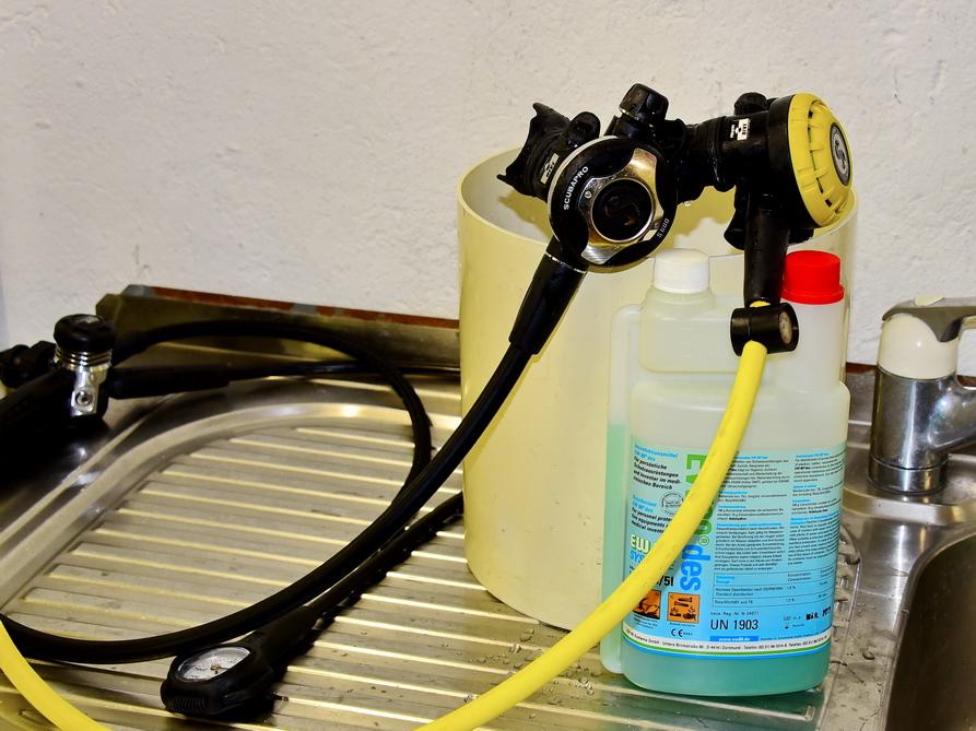 Scubapro Atemregler Service bei Scubaviva