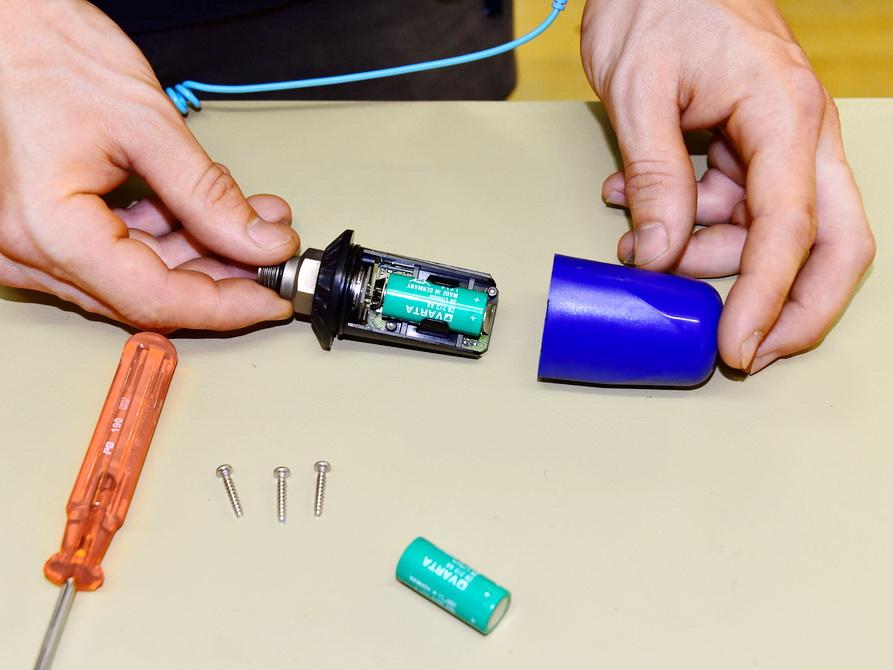 Uwatec Sender Batteriewechseln