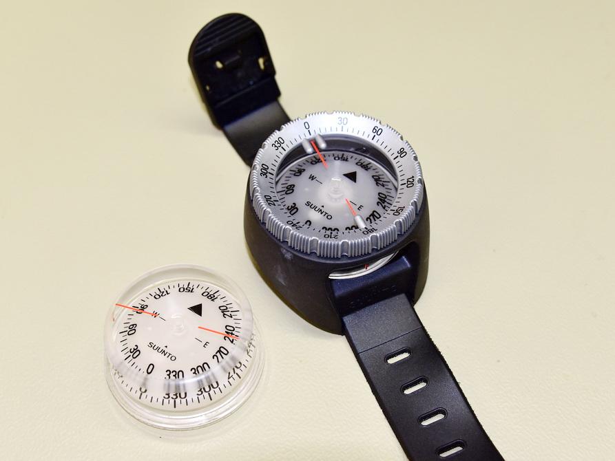 Suunto Kompass Reparatur