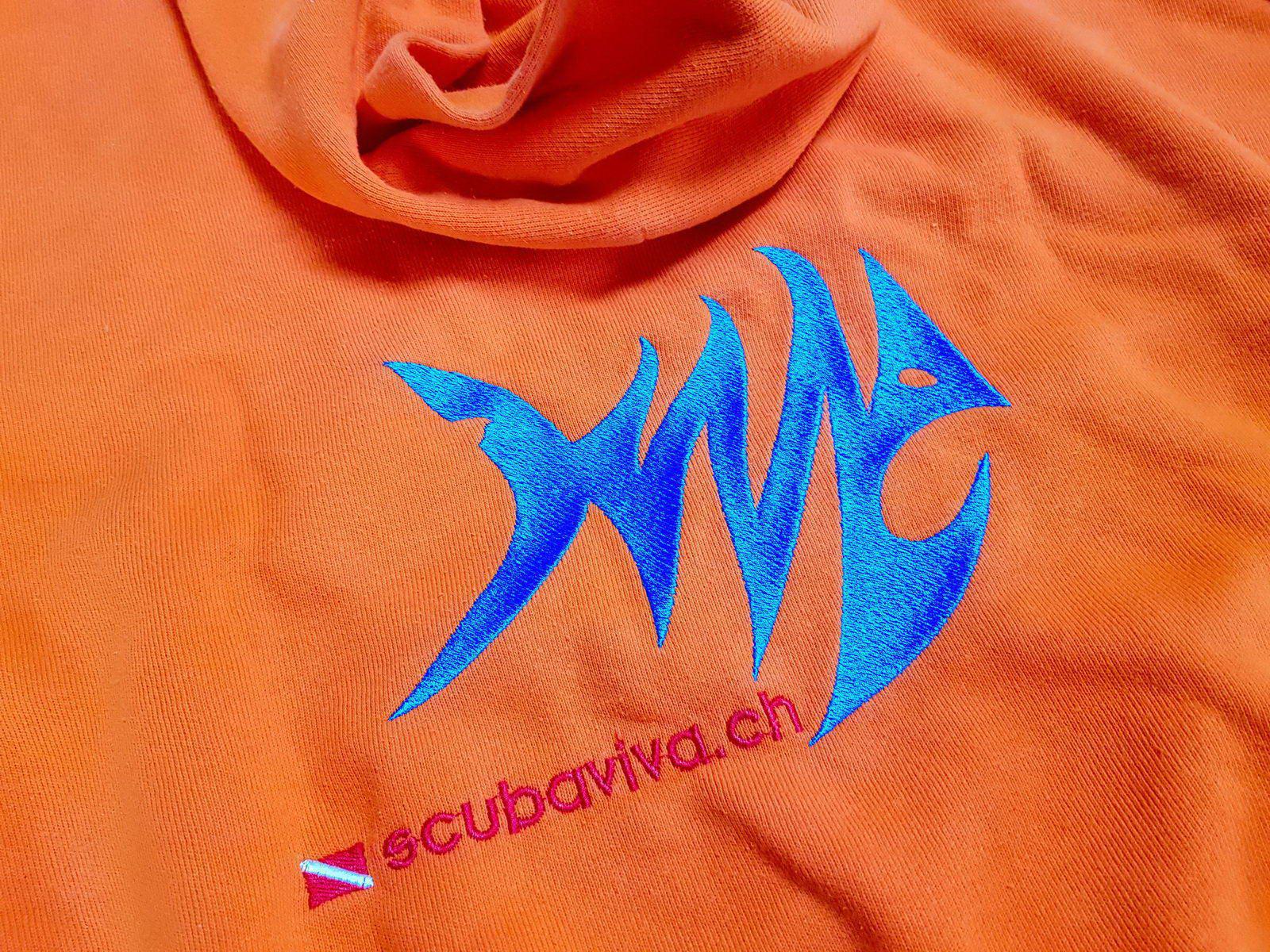 SCUBA VIVA Textilstick eines Fisches