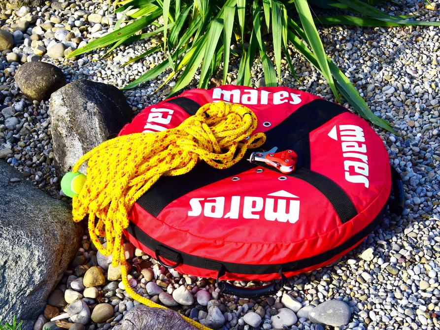 Mares Freediving-Trainingsboje mit Seil und Stopper