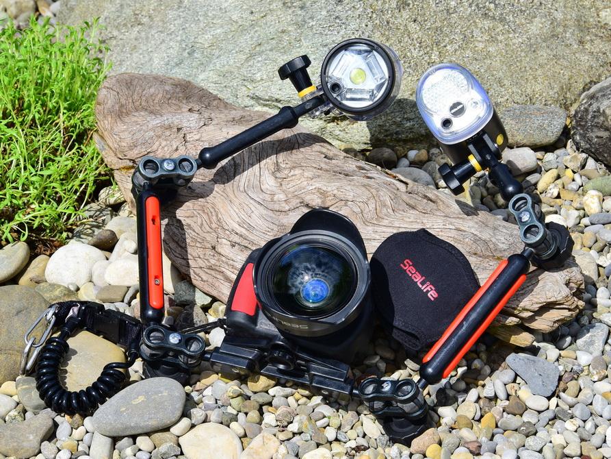 Kamera Set Sealife DC2000 komplett