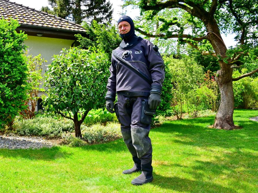 Waterproof Trockenanzung für Vermietung