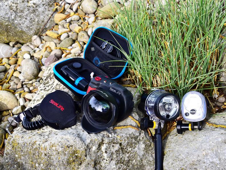 Unterwasser Kamera und Ersatzteile