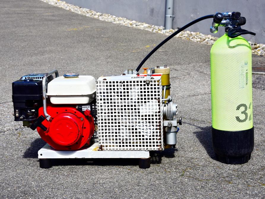 Miete Klein Bauer Kompressor