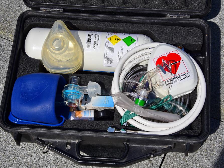 Sauerstoff für Taucher