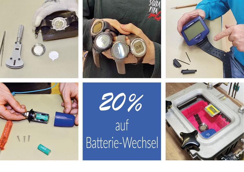 Batterie-Wechsel-Aktion